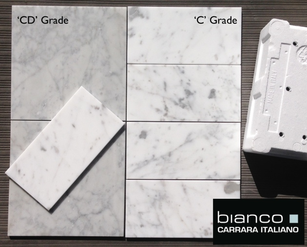 "Carrara 6x12"" Subway Tile"