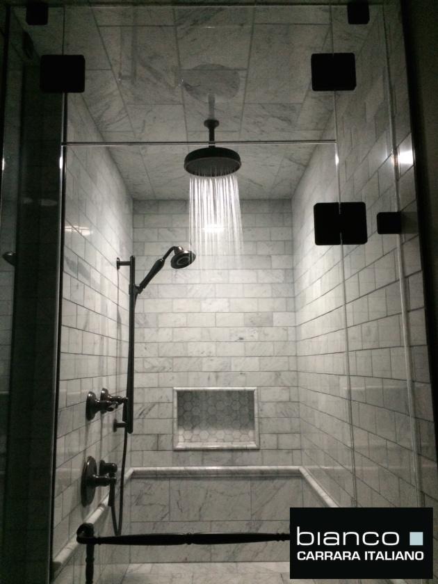 "Carrara Bianco 3x6"" Subway Tile"