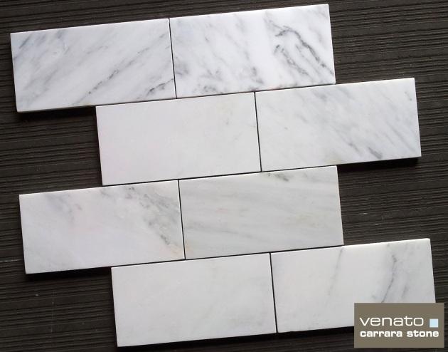 Carrara Venato Subway Tile