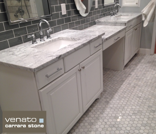 "Carrara Venato 2x2"" Hexagon Polished"