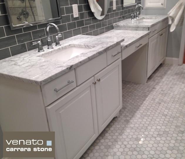 "Carrara Venato 2x2"" Hexagon Polished"