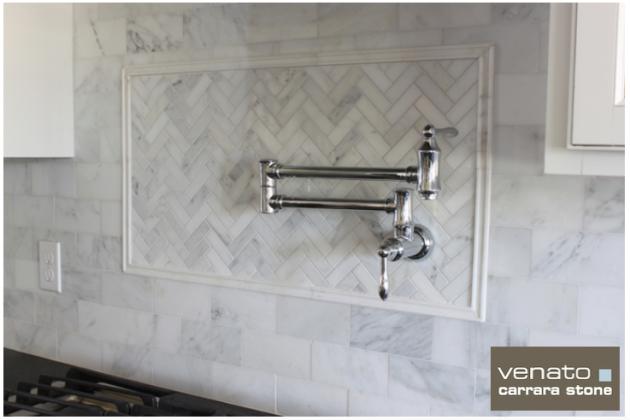 Carrara Venato Tile