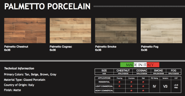 Palmetto Collection Porcelain