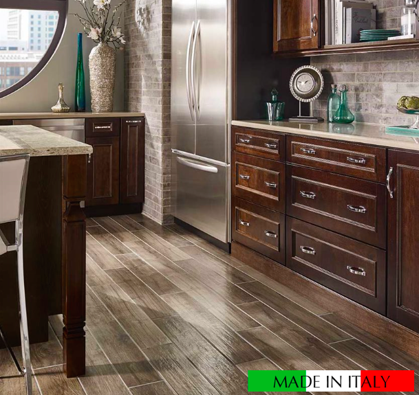 Smoke Palmetto Wood Look Tile