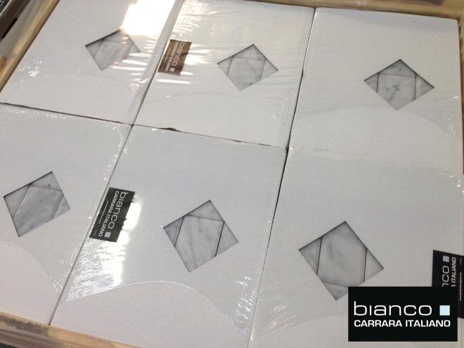 Pallet of 3x6 Beveled Mosaic Tile