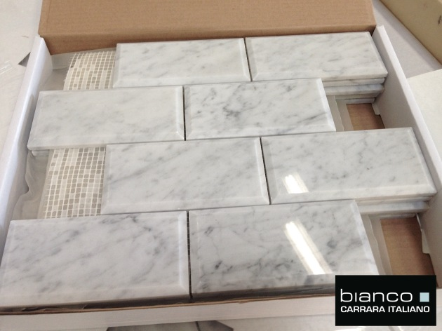 Carrara Bianco Polished 3x6