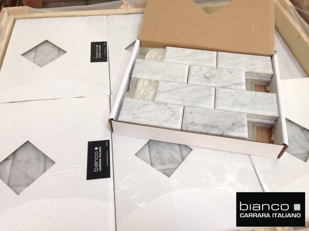 Carrara Bianco 3x6