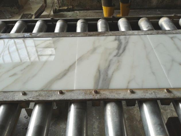 Calacatta Gold Production Marble Tile
