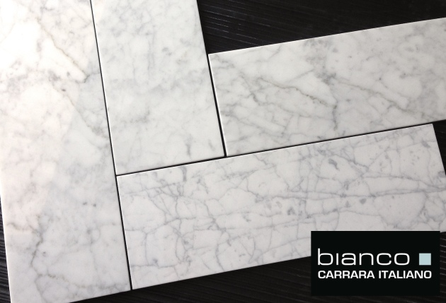 Carrara Bianco 6x18 Tile