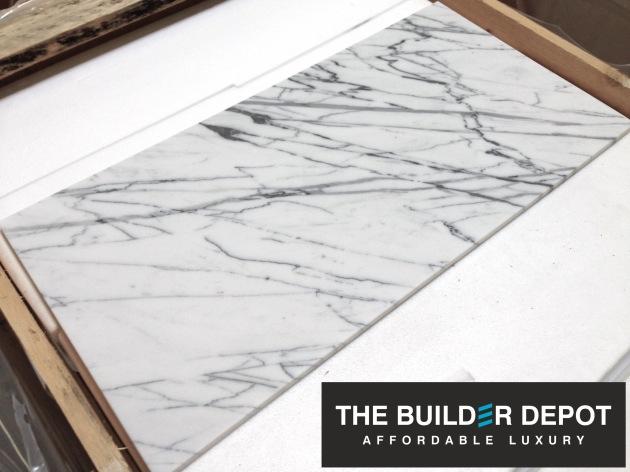 Carrara Bianco Venatino 12x24 Marble Tile