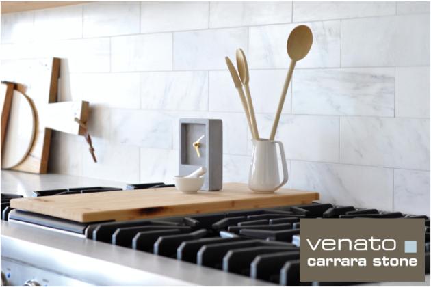 Carrara Venato 4x12 Honed