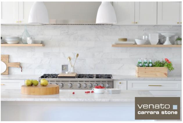 Carrara Venato 4x12 Tile
