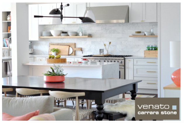 Venato Carrara 4x12%22 Honed Tile