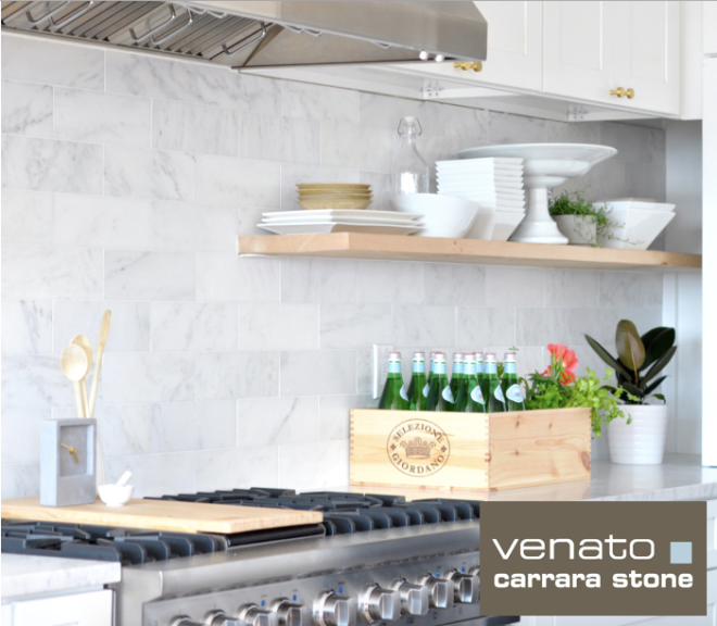 Venato Carrara Honed 4x12 Tile