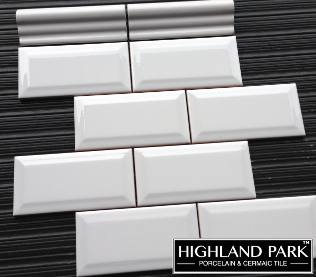 Beveled 3x6 Ceramic Subway Tile