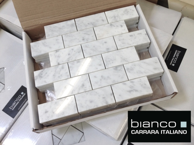 Carrara Bianco 2x4 Polished