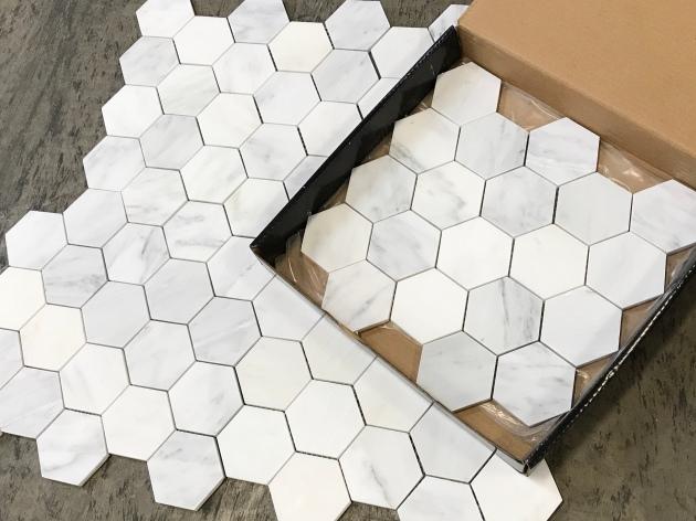 Pietra 3 Hexagon Honed