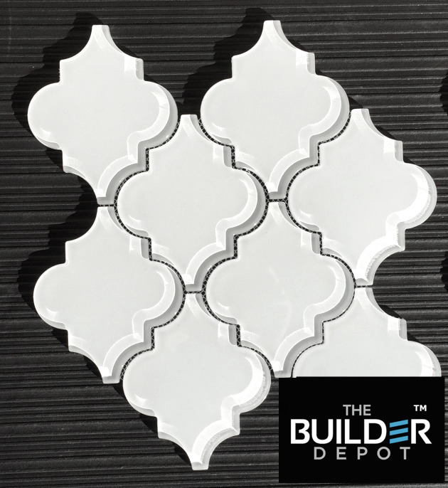 buy white glass tile arabesque here a square foot shop now