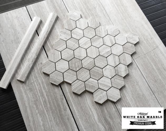 White Oak Hexagon Collection
