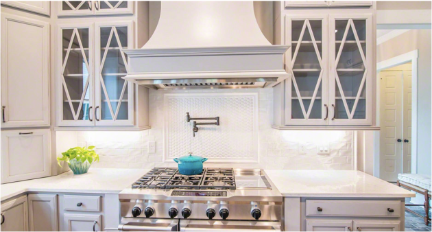 Whisper White 3x6 Backsplash