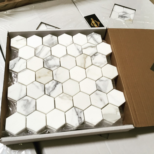 Calacatta Hexagon