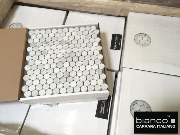 Carrara Penny Rounds