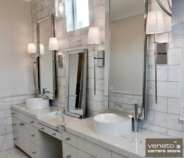 The Builder Depot Carrara Venato Bathroom Spring 2017