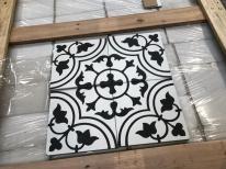 Handmade Encaustic Cement Tiles Tulips Design