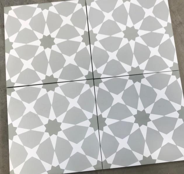 Sage Cement Tile